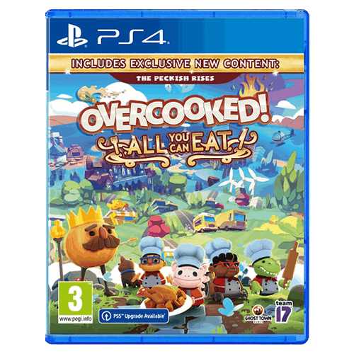 Overcooked! All You Can Eat - (R2)(Eng/Chn/Kr/Jp)(PS4)
