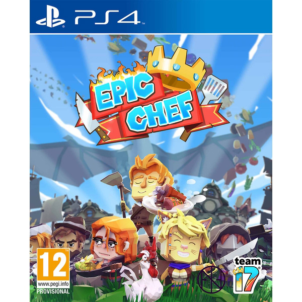 Epic Chef - (R2)(Eng/Chn)(PS4)(Pre-Order)