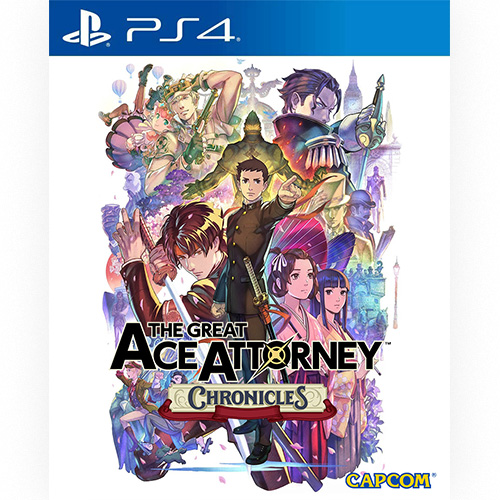 The Great Ace Attorney Chronicles - (R3)(Eng/Jpn)(PS4)(Pre-Order)